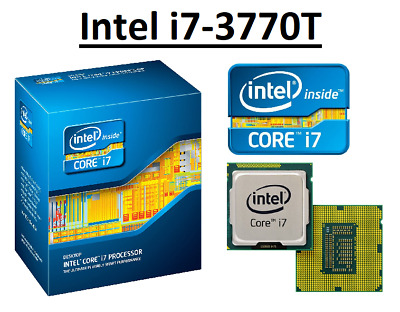 Intel Core I7-3770T SR0PQ ''Ivy Bridge'' 4 Core, LGA1155, Clock 2.5 - 3.7GHz CPU • 134.98£