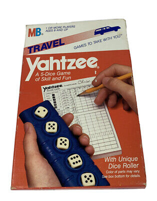 AU34.02 • Buy Vintage 1986 Yahtzee Milton Bradley Travel Edition New In Box Never Opened
