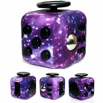 AU8.99 • Buy Starry Sky Newst Fidget Cube Stress Relief Toys For Adults Children Fun Gifts