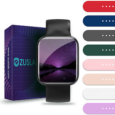 AU7.95 • Buy For Apple Watch IWatch Band Series SE 6 5 4 3 2 1 Sports Silicone Bracelet Strap
