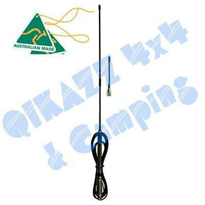 AU169 • Buy ZCG Ground Independent UHF CB Elevated Feed Dual Whip Antenna - 477MHz