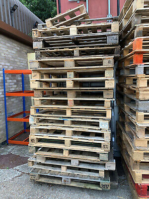 £5 • Buy Used Euro & Heavy Duty & Irregular Wooden Pallets Collection Only TN38 Hastings