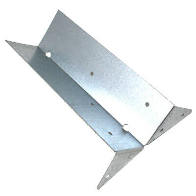 £69.99 • Buy TRADE PACK OF 100 X ARRIS RAIL BRACKETS GALVANISED FENCE POST SUPPORT - 225mm