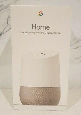 AU129.95 • Buy Google Home Smart Speaker Assistant - Brand New Sealed Box