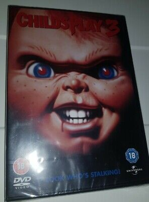 Childs Play 3 - Dvd - New And Sealed • 9.99£