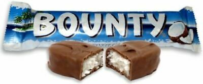 Full Box 24 X 57g Bars Bounty Milk Chocolate Bar Free Tracked Delivery • 12.99£
