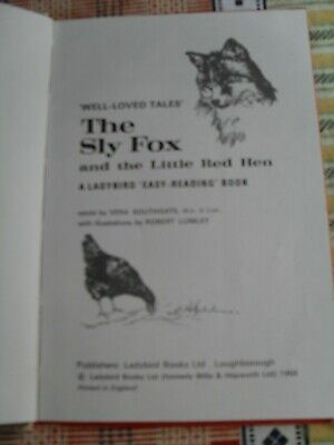 The Sly Fox And The Little Red Hen Ladybird Book • 6£