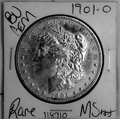 $31 • Buy 1901 O GEM Morgan Silver Dollar #118710 BU MS+++ UNC Coin Free Shipping