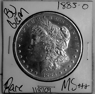 $24.50 • Buy 1885 O GEM Morgan Silver Dollar #118709 BU MS+++ UNC Coin Free Shipping
