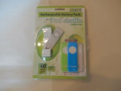 £7.19 • Buy Ipod Shuffle Rechargeable Battery Pack With Three Shuffle Sleeves By Cellboost