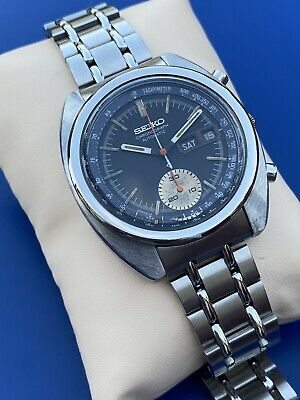 $ CDN214.50 • Buy Seiko Single Chronograph 6139-6012 Vintage Day Date Automatic Man's Watch