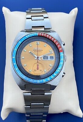 $ CDN391.66 • Buy Vintage Seiko Pouge Pepsi Automatic 6139-6002 Man's Watch