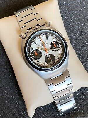 $ CDN348 • Buy Rare Vintage Citizen Bullhead Chronograph 8110A Men's Wrist Watch.