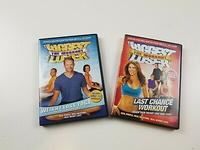 The Biggest Loser: Last Chance Workout And Weight Loss Yoga Bob Harper Home DVD • 11.72£