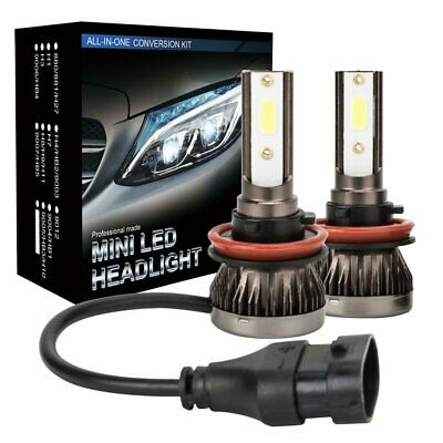 AU17.99 • Buy 2X H8/H9/H11 LED Headlight Globe Beam Bulbs 6500K White High Power 110W 26000LM