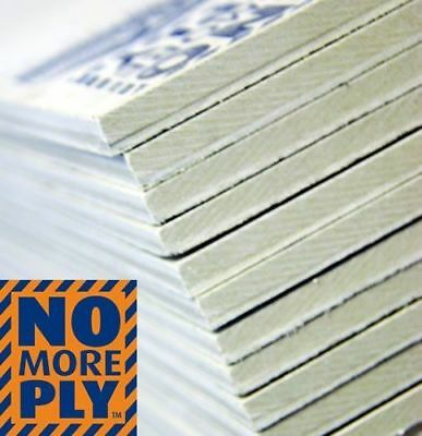 No More Ply 6mm Tile Backer Board 10 Board Package To Cover 7.2m2  • 159£