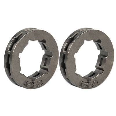2x Rim Sprocket 3/8  7 T Fit For Stihl MS380 MS381 MS440 MS441 MS460 Chainsaw. • 5.09£