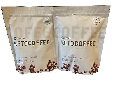 $71 • Buy 2 Bags Brand New It Work Keto Coffee  (30 Packets Total)