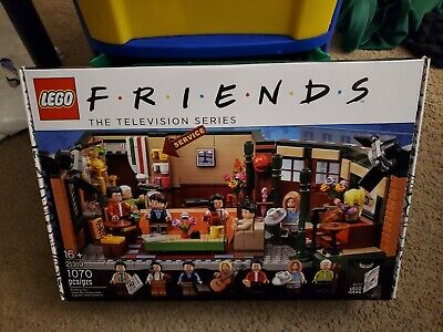 $56 • Buy LEGO 21319 Friends The Television Series Central Perk Ideas #027 1070pcs New
