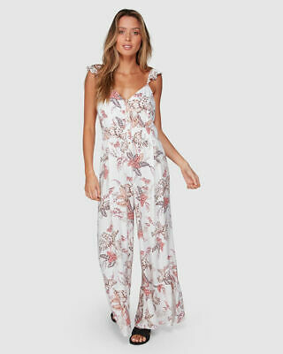 AU53.99 • Buy Bnwt Tigerlily Ladies Mazari Jumpsuit Size 14 (ivory) Rrp $180 Last One