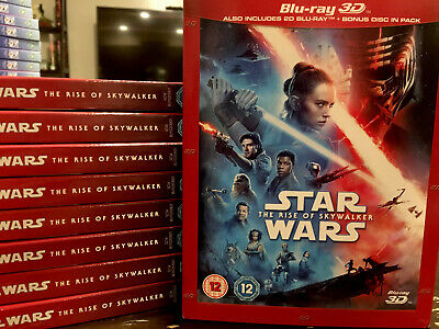 AU40.22 • Buy Star Wars: The Rise Of Skywalker (Blu-ray Disc 3D, 2019) Region Free