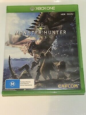 AU29.50 • Buy Monster Hunter World Xbox One EXCELLENT CONDITION FREE SHIPPING