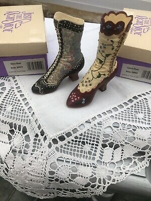 Just The Right Shoe Opera And Deco Boots • 4£