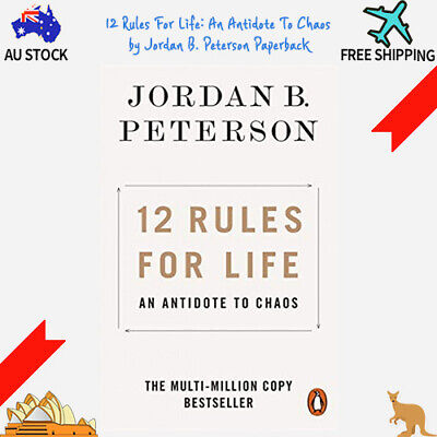 AU18.50 • Buy 12 Rules For Life: An Antidote To Chaos By Jordan B. Peterson Paperback