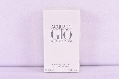 $39.19 • Buy Men's Giorgio Armani Acqua Di Gio After Shave Balm, 3.4oz