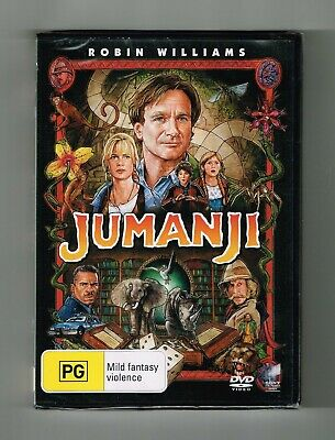 AU10.75 • Buy Jumanji Dvd Robin Williams - Brand New & Sealed
