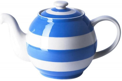 Cornishware Blue And White Stripe Large Betty Teapot, 6 Cup • 74.29£