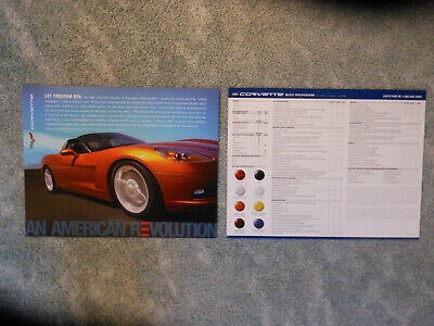 $2.50 • Buy 2007 Corvette Z06 Coupe Convertible Information Facts Card NEW