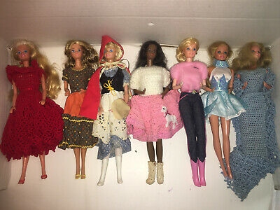 $ CDN33.34 • Buy Mixed Lot Of 11 Vintage Barbie Dolls
