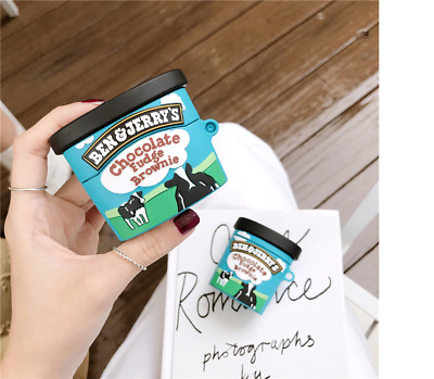 $ CDN9.72 • Buy Chocolate Ice Cream Cup Earphone Case For Airpods Pro 2 1 Cute Silicone Cover