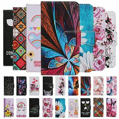 AU6.40 • Buy For Apple Iphone 11 Pro Max 8 7 Case Painted Wallet Flip Card Stand Phone Cover