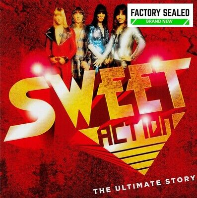 The Sweet – Action (The Ultimate Story) 2 X CD Set NEW • 8.99£