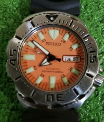 $ CDN495.29 • Buy SEIKO 7S26-0350 MONSTER 1st Gen Water Proof Tested All Original Nice Collection