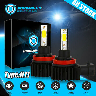 AU29.99 • Buy H11 H9 H8 LED 10000LM Car High/Low Beam Headlight Lamp Fog Light Bulb For Holden