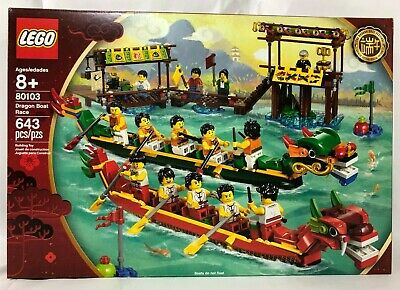 $78.99 • Buy LEGO 80103 Dragon Boat Race-Chinese New Year- NEW Sealed, FREE Shipping 15 Figs.