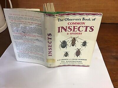 £9.99 • Buy Observers Book Of Common Insects & Spiders 1956: