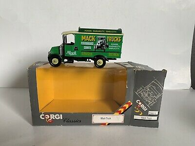 $19.99 • Buy B3 VINTAGE CORGI CLASSICS Die Cast C906/1 MACK TRUCK  Advertising Model Ex Cond