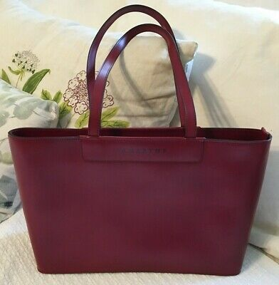 LAMARTHE Red Split Leather NEW Tote Bag Purse-NEW • 63.66£