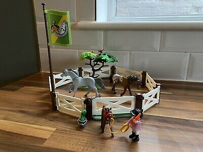Playmobil Country - Horse Paddock 6931 - Complete With Instruction Manual • 6.50£