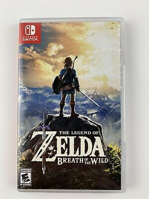 $49.99 • Buy Legend Of Zelda: Breath Of The Wild (Nintendo Switch, 2017) Game And Case