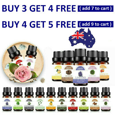 AU10.99 • Buy Essential Oils 10ml Natural Pure Organic Aromatherapy Essential Oil 37Fragrances