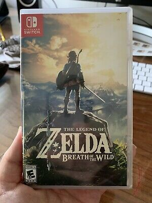 $26 • Buy Legend Of Zelda: Breath Of The Wild (Nintendo Switch, 2017)