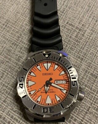 $ CDN945.56 • Buy Seiko Diver Watch Orange Monster, SRP309J1 4R36-01J0 Automatic RARE From Japan