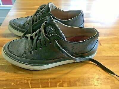 Women's Fitflop Pewter Trainer Style Shoes, Size 4 • 3.50£