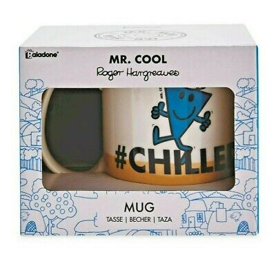 $13.79 • Buy Mr. Cool Ceramic Mug Cup #CHILLED By Paladone, A Great Gift For Any Mr Men Fan!