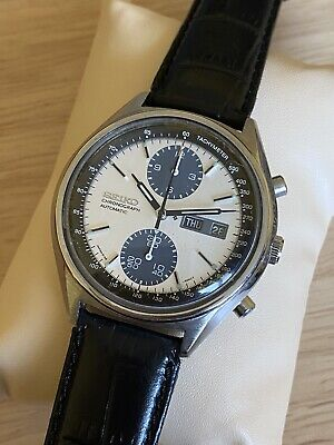 $ CDN870 • Buy Vintage Seiko Panda 6138-8020 Chonograph Stainless Steel Automatic Man's Watch